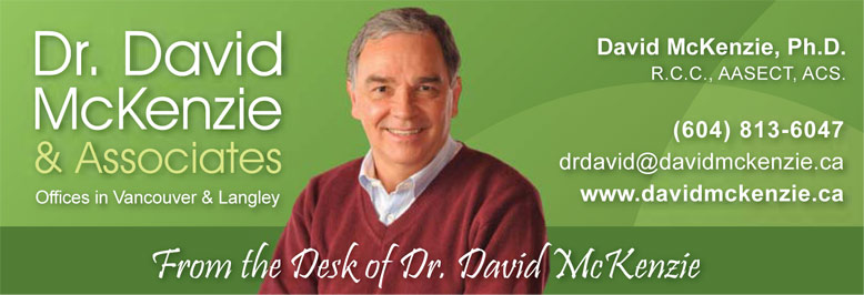 From the Desk of Dr. David...