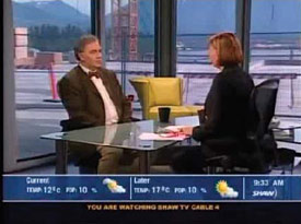Dr. David is featured monthly as the resident couples counsellor and sex therapist on Vancouver's Fanny Kiefer's Studio 4 on Shaw Cable 4